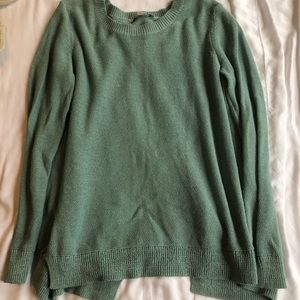 Loft open back sweater